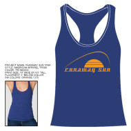 Ladies American Apparel Tri-Blend Racerback Tank – Size M
